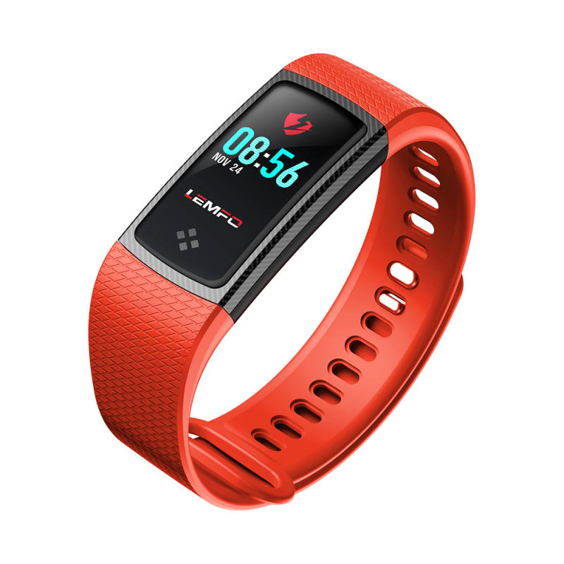 Lemfo Activity Tracker Rood