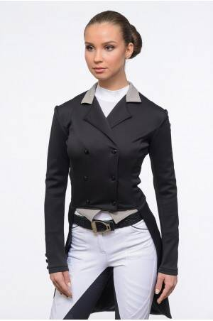 Dressage Tail Coat PASSION - SECOND SKIN TECHNOLOGY Navy