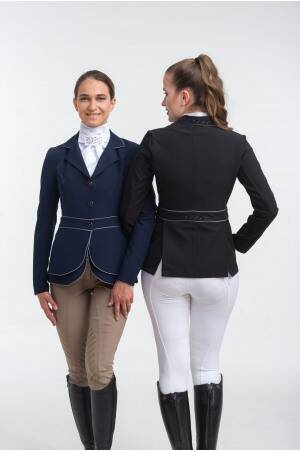 Riding Show Jacket VENICE - DOUBLE FRONT PANEL TECHNOLOGY Navy