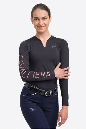 High Performance Riding Top ROSE GOLD - Long Sleeve,