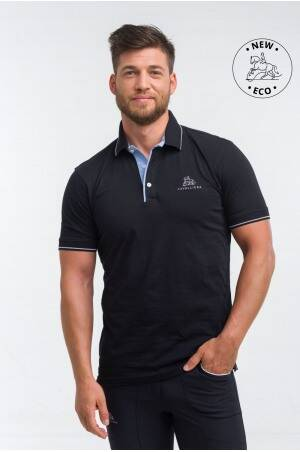 Cotton Based Functional Riding Polo - LONDON MAN