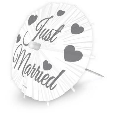 Parasol Prikkers XL Just Married