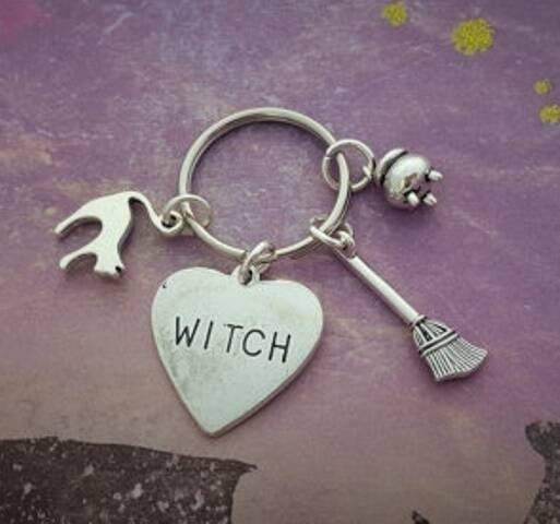 Sleutelhanger Witch
