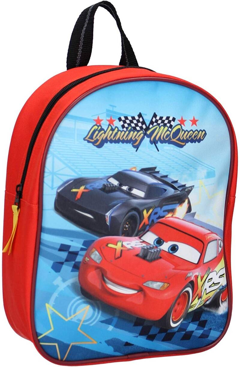 Disney rugzak Cars The Fast One 28 x 22 cm rood