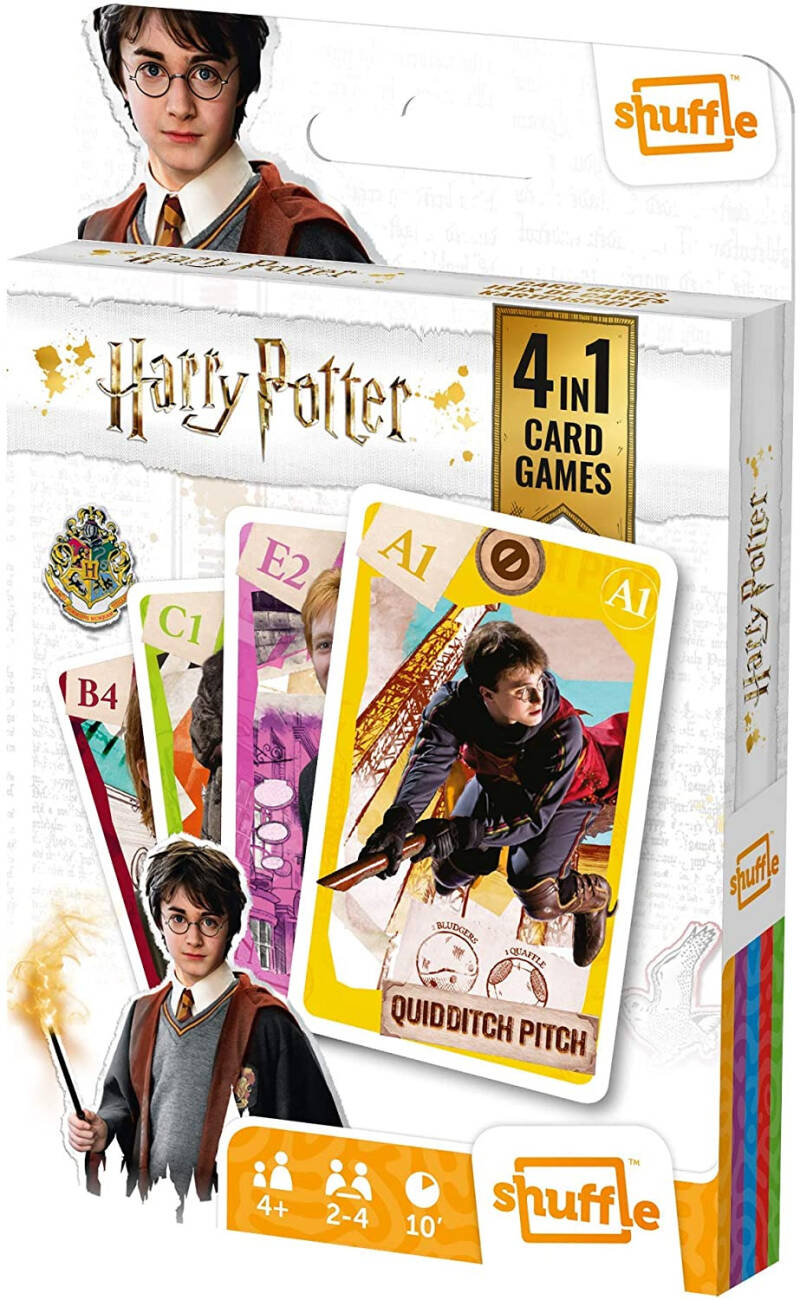 Harry Potter kaartspel 4-in-1