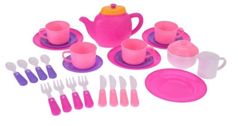 Tender Toys theeservies 29-delig roze