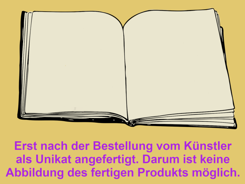 Softcover Blanko Notizbuch (Merchandise)