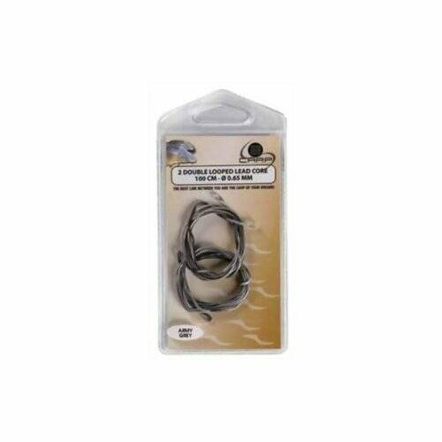 B CARP DOUBLE LOOPED LEAD CORE 1M
