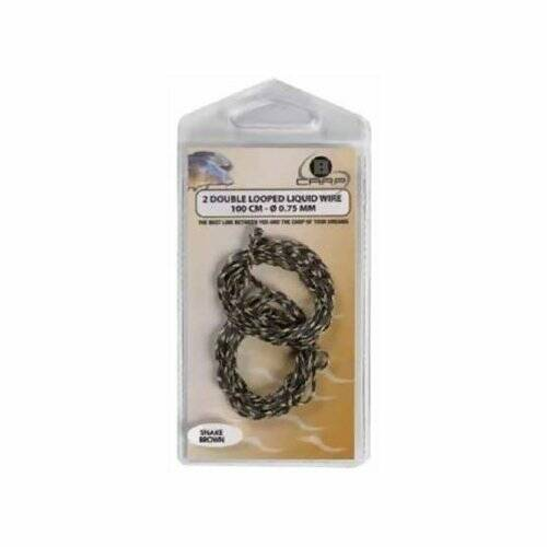 B CARP DOUBLE LOOPED LIQUID WIRE 1M