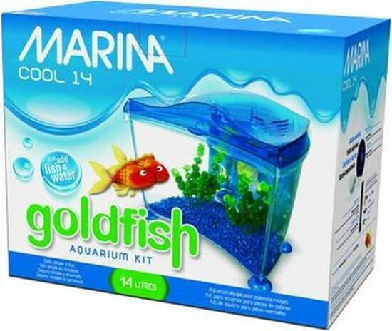 MARINA GOLDFISH AQUARIUM KIT 14L