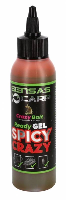 SENSAS READY GEL SPICY CRAZY 115ML (45013)