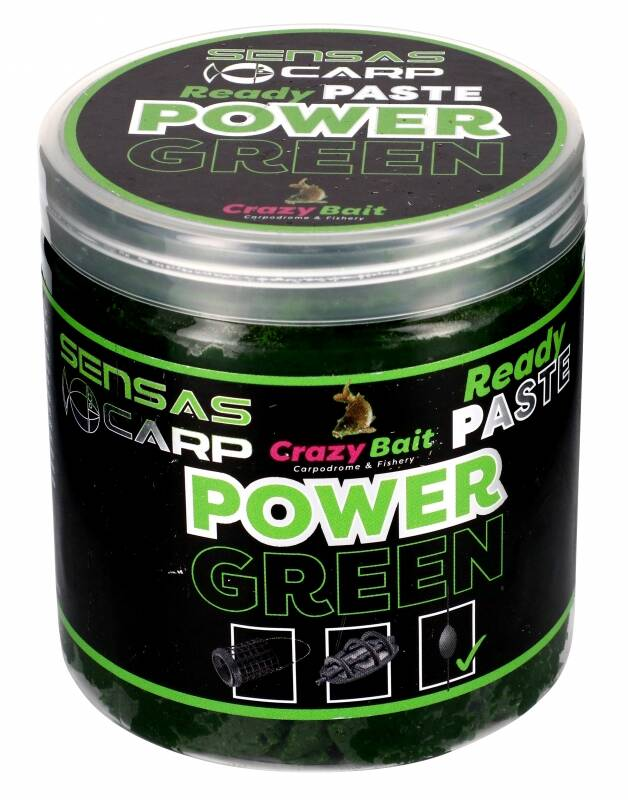 SENSAS READY PASTE POWER GREEN 100GR (45614)