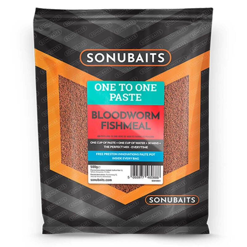 SONUBAITS ONE TO ONE PASTE 500GR