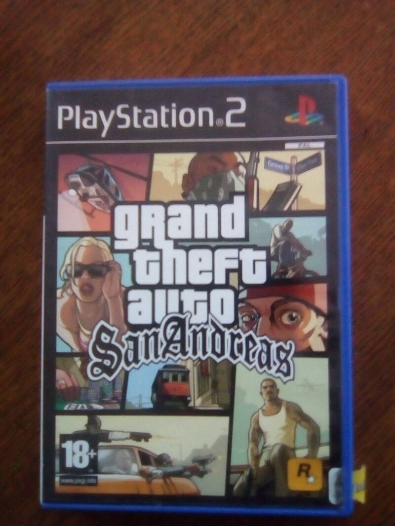PS2 - Grand theft auto - San Andreas