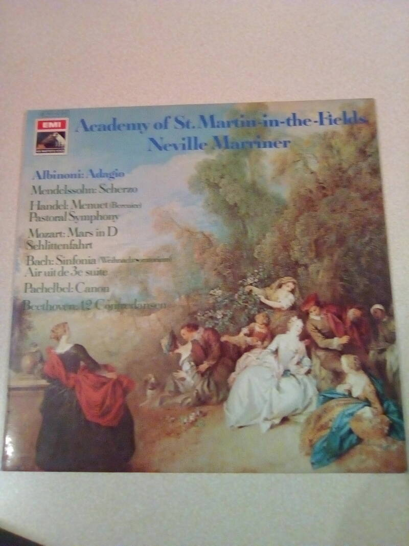 LP Academy of St. Martin-in-the-Fields Neville Marriner