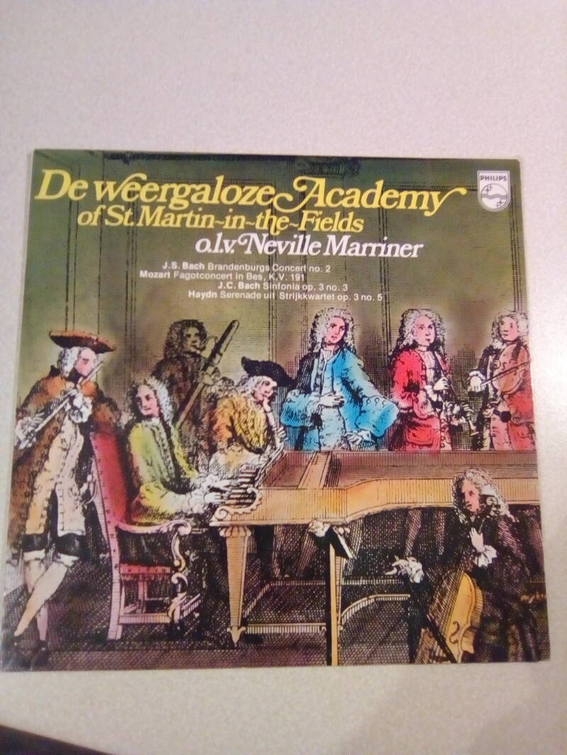 LP De weergaloze Academy of St. Martin in the Fields