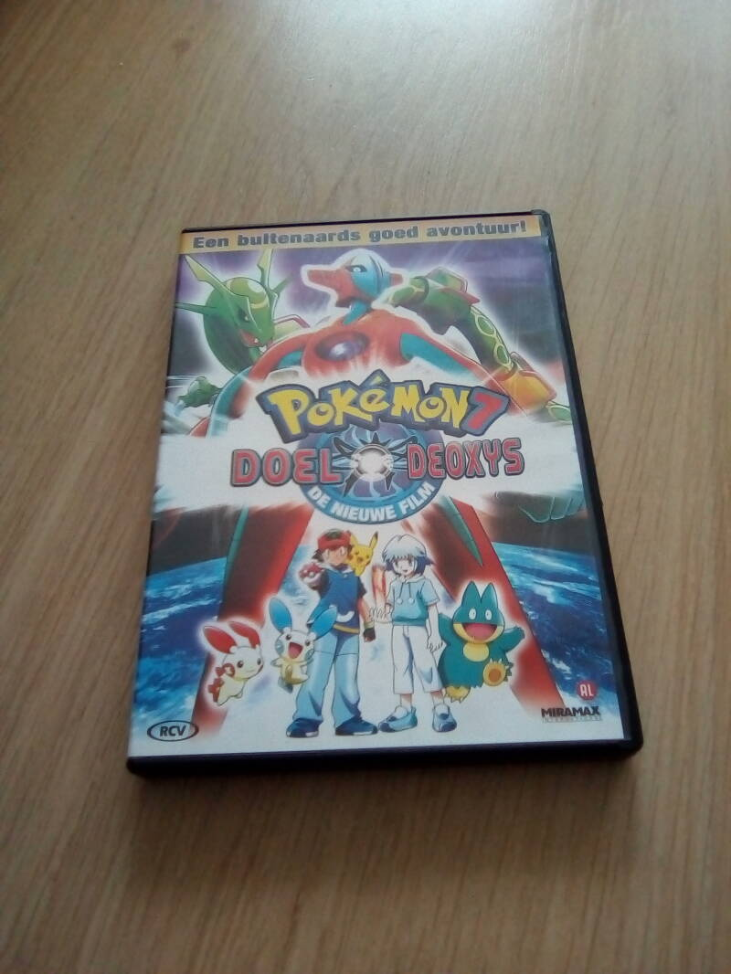 DVD pokemon7 doel deoxys  AL