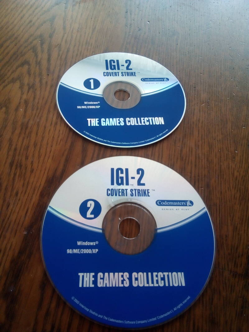 PC - IGI 2 covert strike the games collection