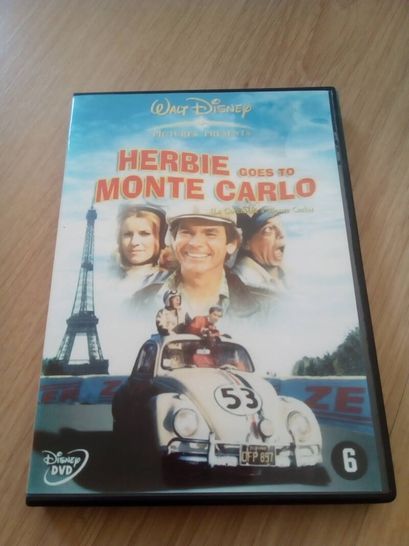 DVD Herbie goes to Monte Carlo