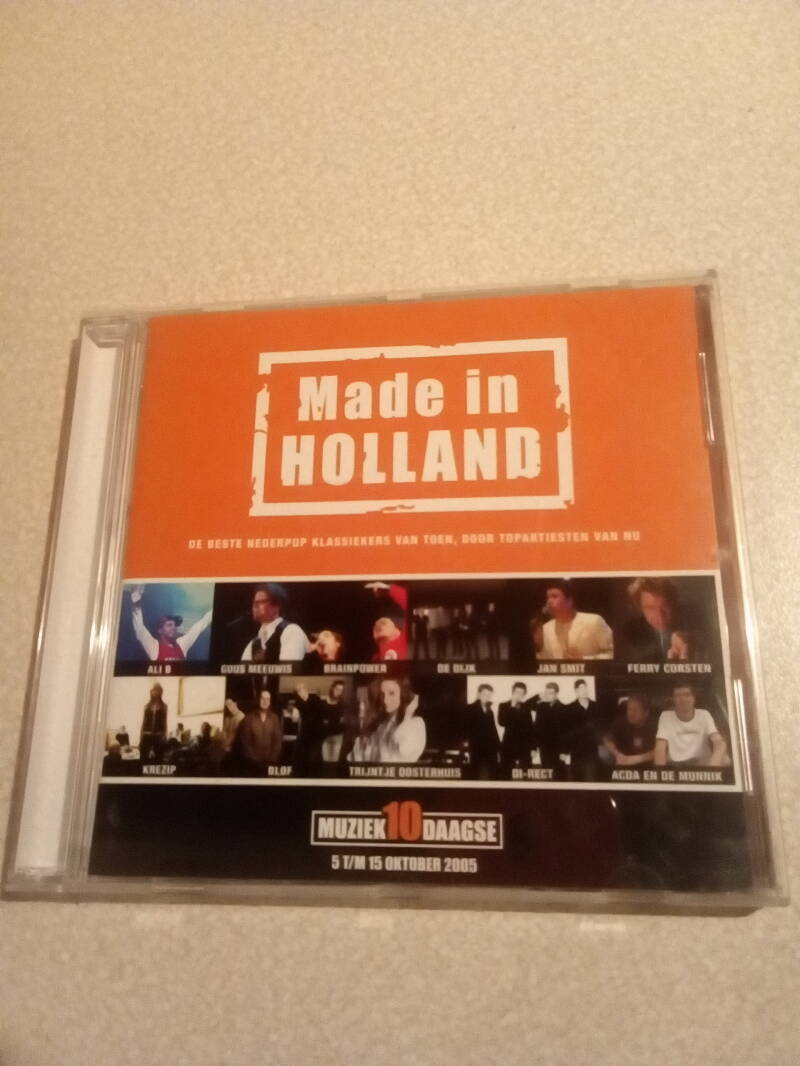 CD Made in Holland