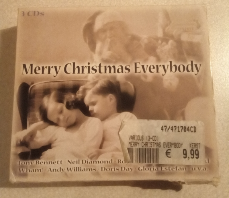 Kerst CD 3 stuks  Merry Christmas Everybody