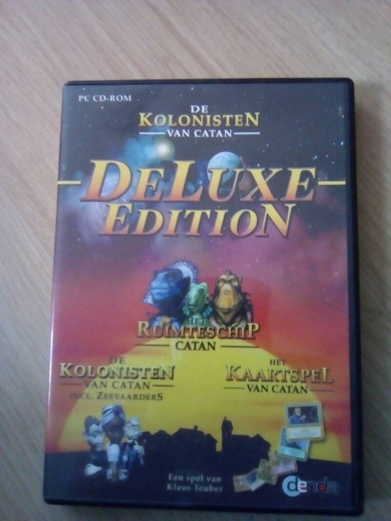 PC De kolonisten van catan deluxe edition 3cd