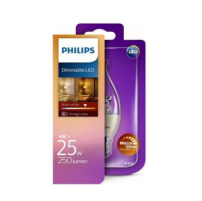 Philips Dimmable Led warm white 25w 250 lumen