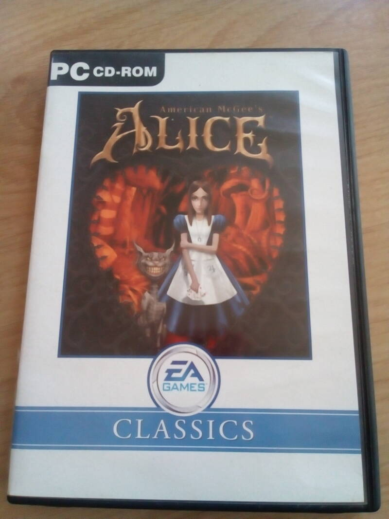 PC Alice EA games classics