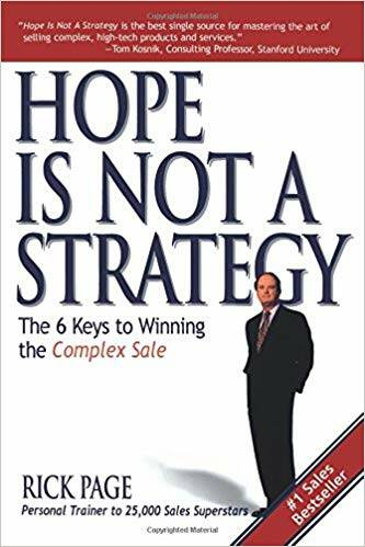 Rick Page - Hope Is Not a Strategy (Engels)