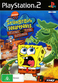 PS2 Spongebob: Revenge Of The Flying Dutchman