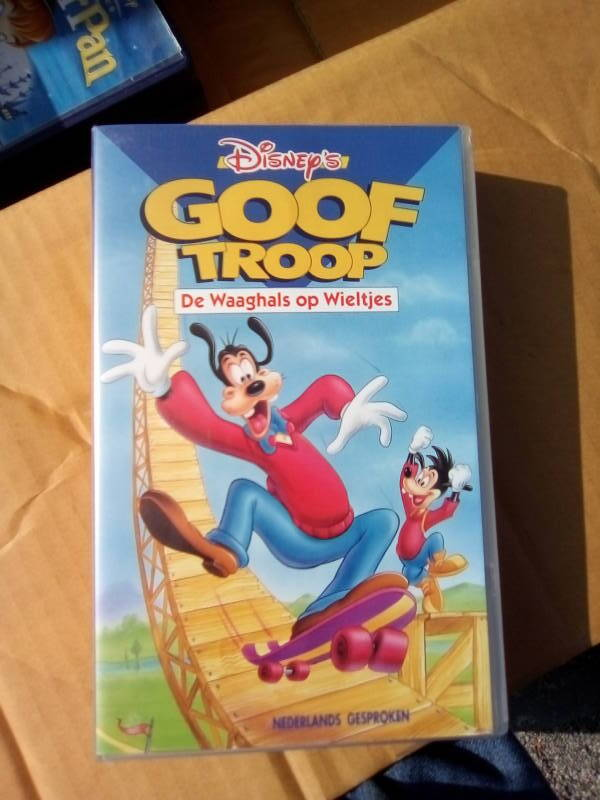 VHS videoband Goof Troop