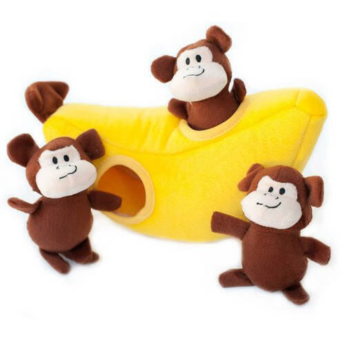 ZippyPaws Monkey 'n Banana