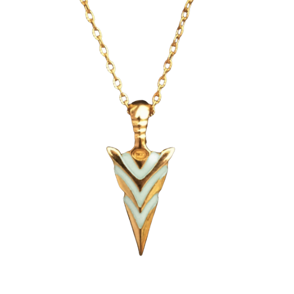Glow In The Dark Arrow Necklace