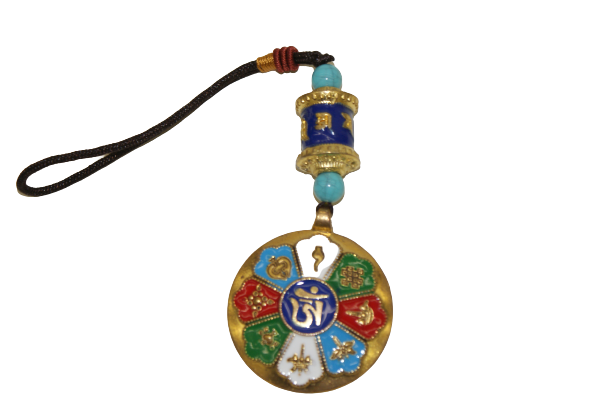 Tibetan keychain multi colour