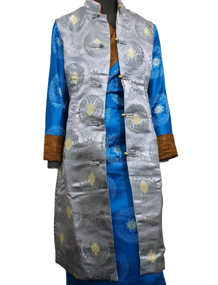 Tibetan summer jacket with no sleeves