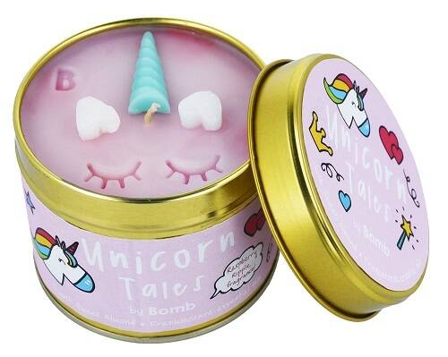 Unicorn Tales Tinned Candle