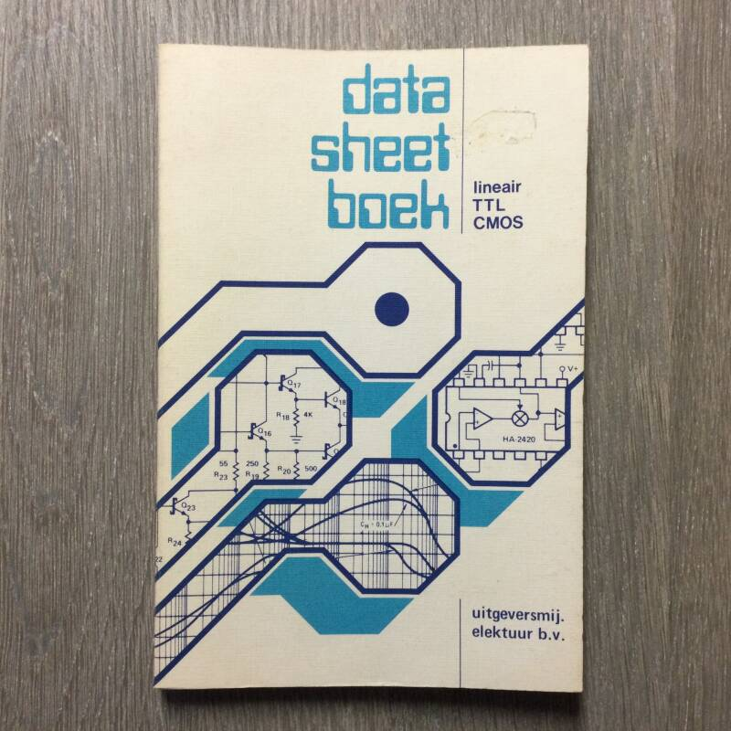 Data sheet boek - lineair TTL CMOS - 1983