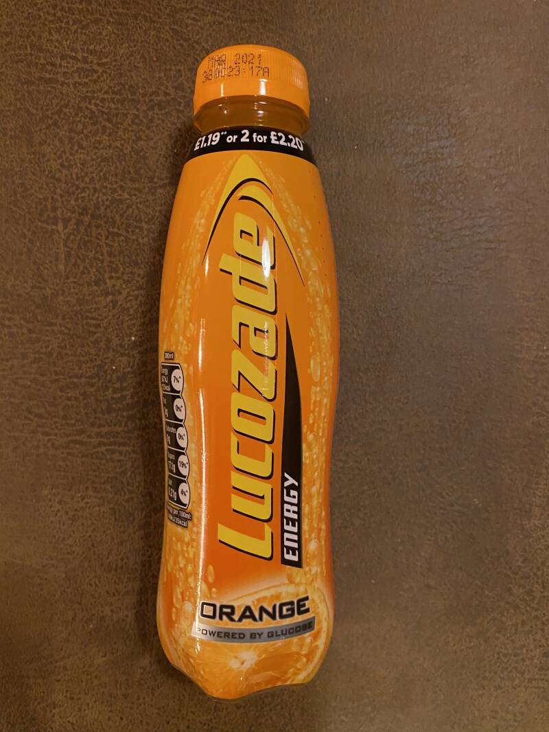 Lucozade orange 38cl