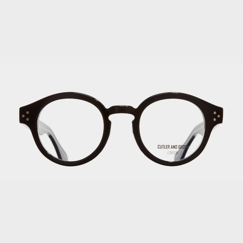 Cutler and Gross 1291 Black on Crystal