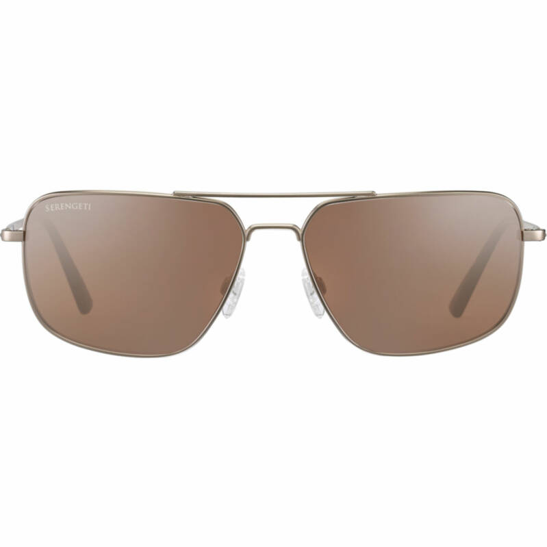 Serengeti Agostino Matte Gold Polarized 8825