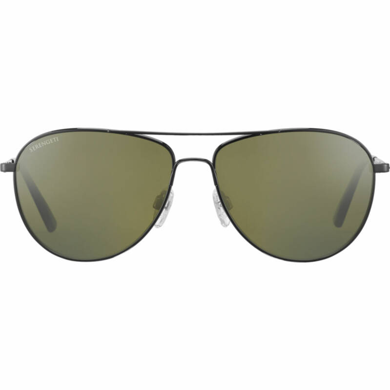 Serengeti Alghero Shiny Dark Gunmetal Polarized 8313