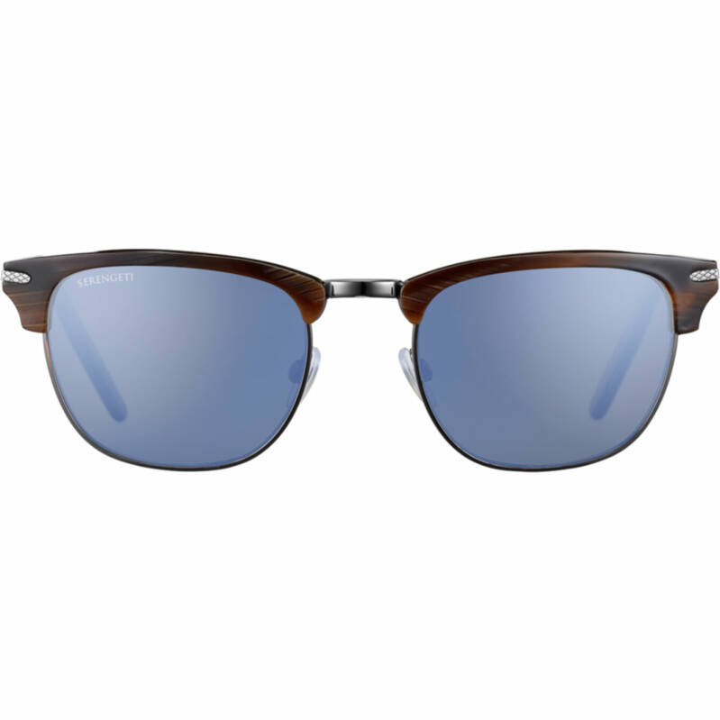 Serengeti Alray Shiny Wood Grain Polarized Blue 8944