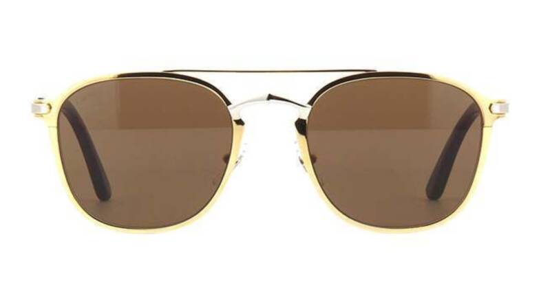 Cartier CT0012S-002 Gold Silver | SALE