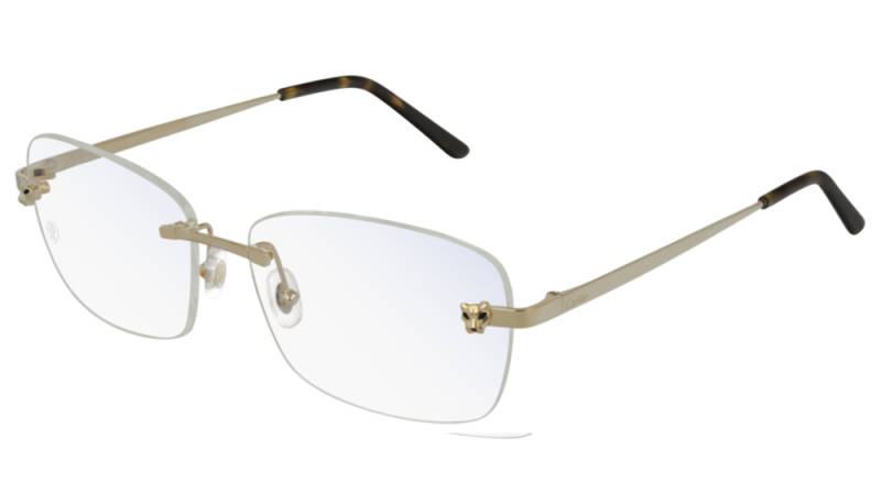 Cartier CT0148O-001 Gold Transparant Optical