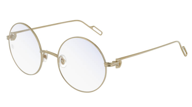 Cartier CT0158O-002 Gold Transparant Optical