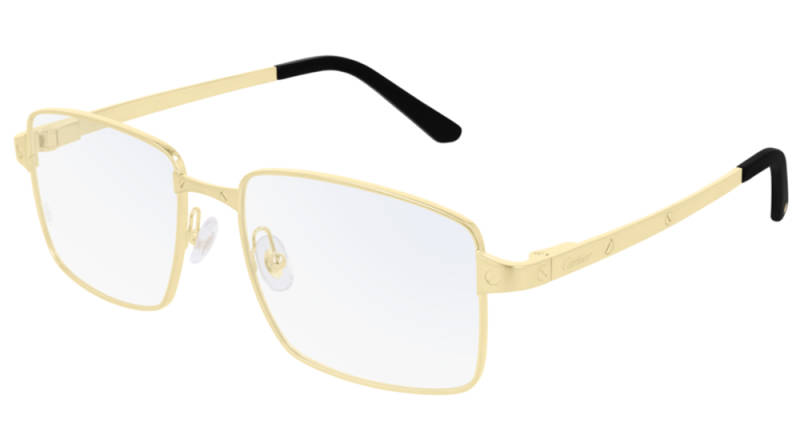 Cartier CT0203O-001 Gold Transparant Optical | SALE
