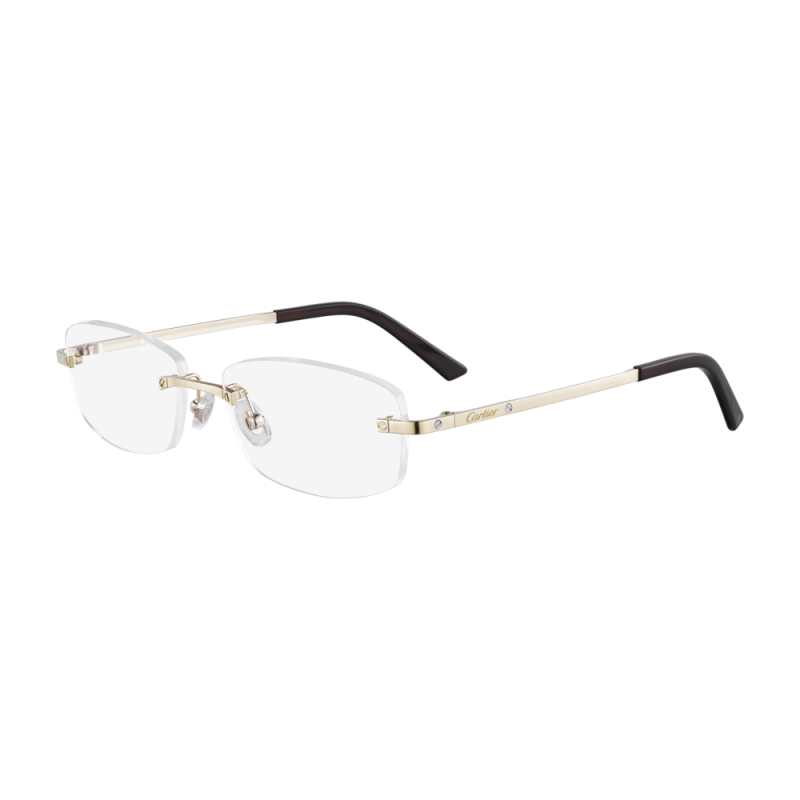 Cartier CT0086O-001 Gold Transparant Optical