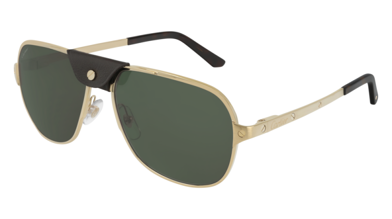 Cartier CT0165S CT0165S-008 Sunglasses