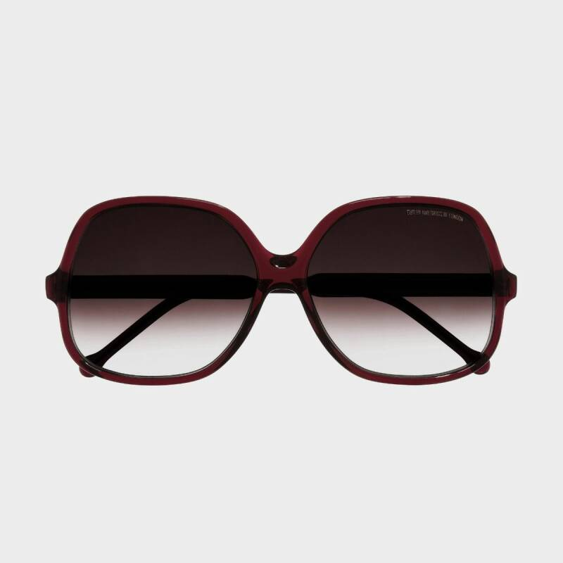 Cutler and Gross Sunglasses 0811 02 Bordeaux Red