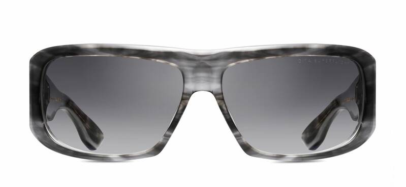 Dita Superflight DTS133-61-03 MATTE CRYSTAL GREY SWIRL/WHITE GOLD